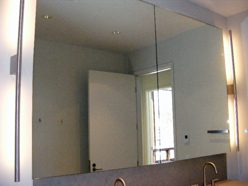 Chicago bathroom vanity mirrors chicago bathroom double for Types of bathroom mirrors