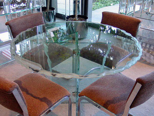 chicago heavy glass tabletops