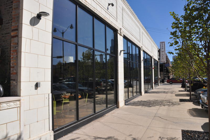 Storefront Glass Walls : Chicago storefront walls store front glass