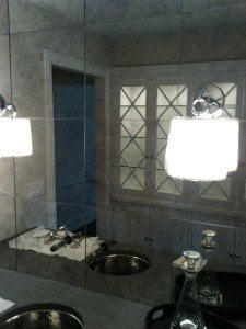Chicago Antique Bathroom Mirrors 