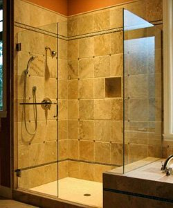 custom glass shower doors for the bathroom