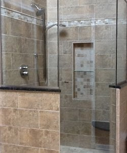 Chicago Neo Angle Shower Doors